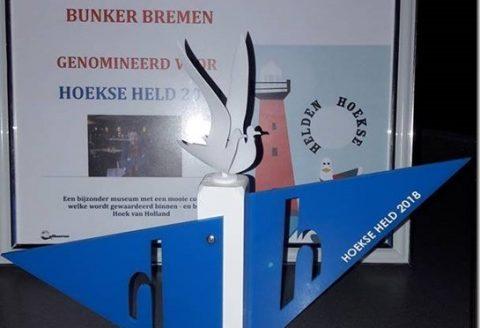 Award  Hoekse Held 2018